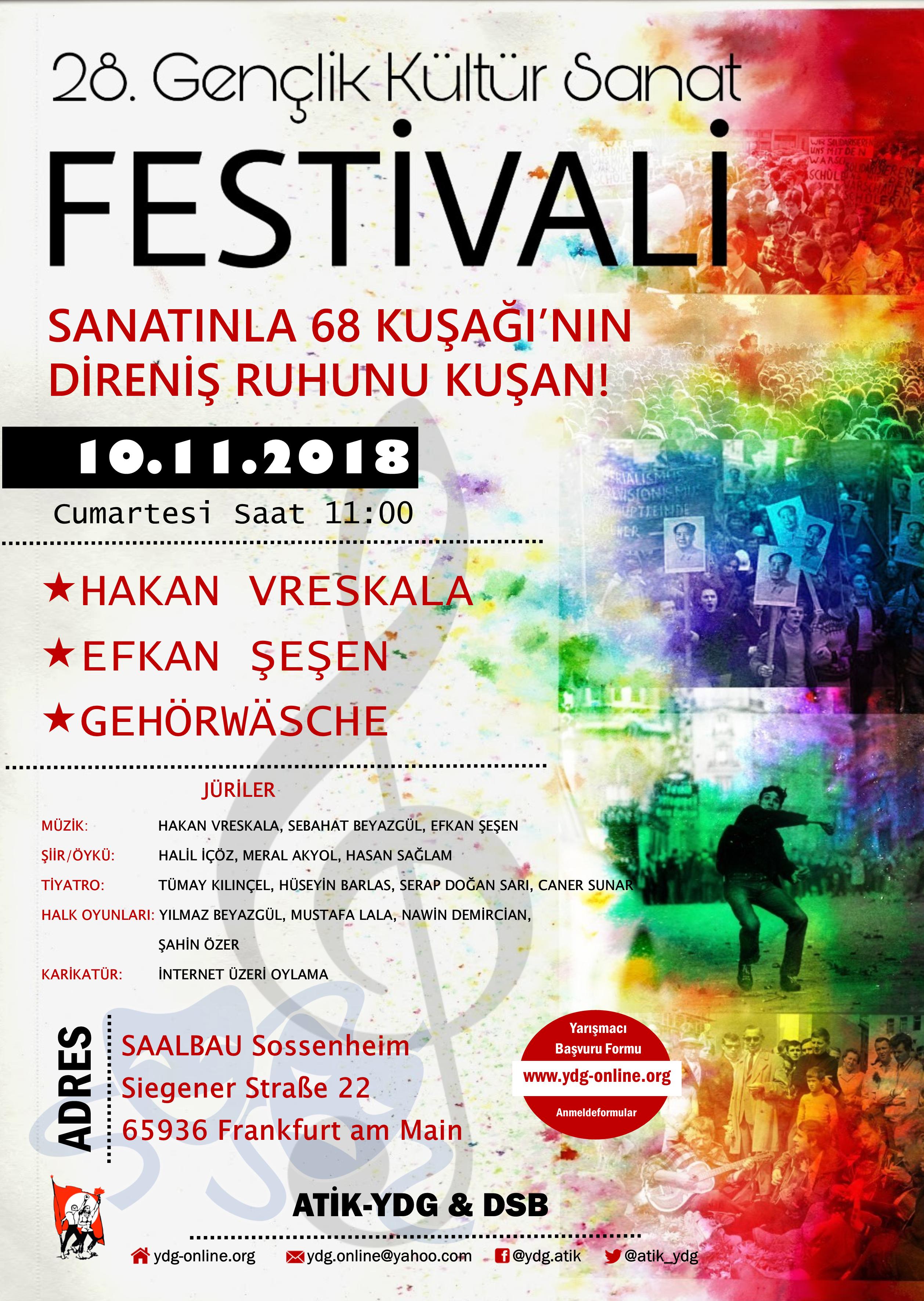 28. Gençlik Kültür Sanat Festivali